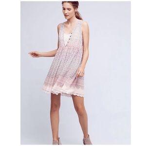 Anthropologie Maeve Violeta Swing Dress